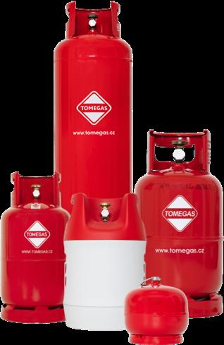 plynové lahve
